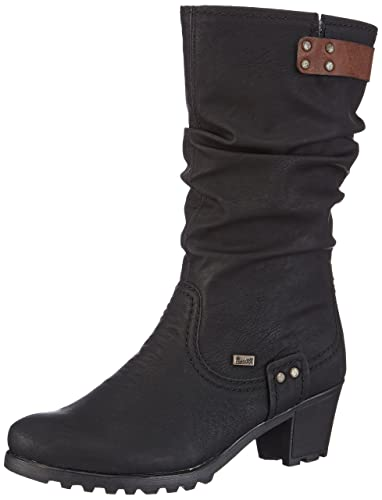 564e7e65df7c8 Amazon.com | Rieker Womens L.High Boots Black | Boots