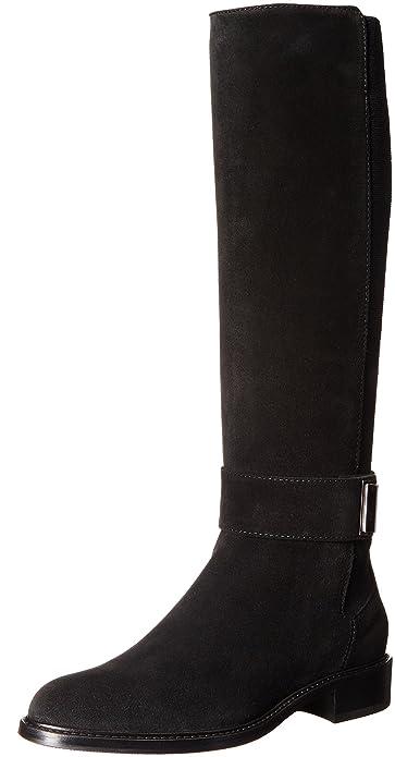Amazon.com | Aquatalia Women's Giada Suede Riding Boot | Knee-High