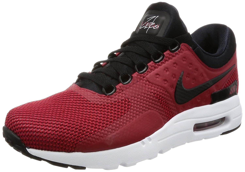 NIKE Air Max Zero Essential Mens Running Shoes B072J94VJD 9.5 D(M) US|Tough/Red/Black/White
