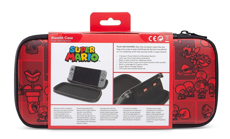 Amazon.com: Stealth Case for Nintendo Switch - Super Mario ...