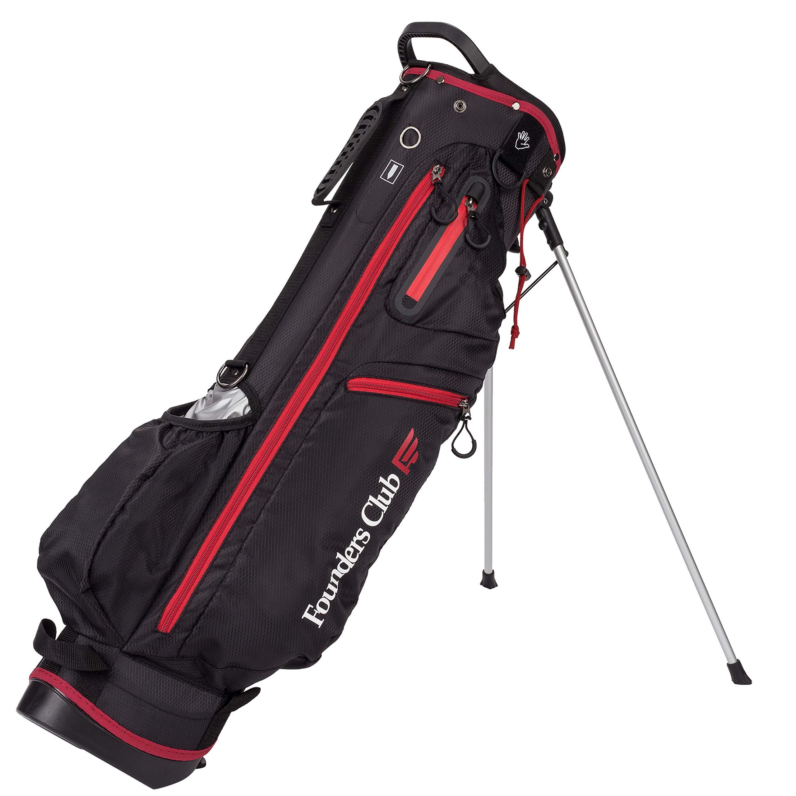 Founders Club 7'' Mini Light Weight Golf Stand Bag (Black)