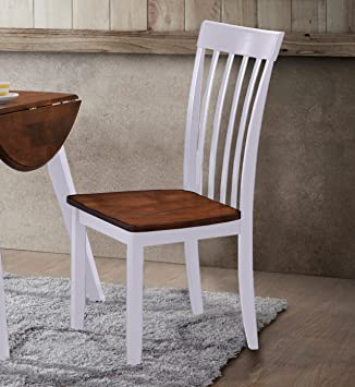 Hommax Furniture Slat Back Hardwood Dining Chairs