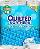 Quilted Northern Ultra Soft & Strong Double Roll Toilet Tissue-White-24 ct
