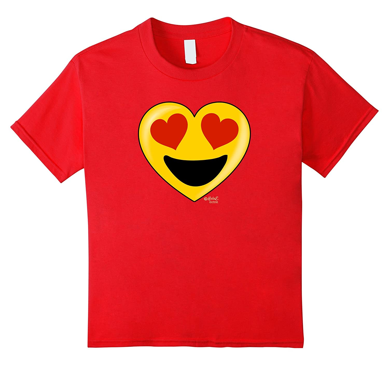 Emoji Heart Valentines Day Shirt