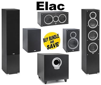 1Pair ELAC Debut F5 Tower Speakers Ea C5