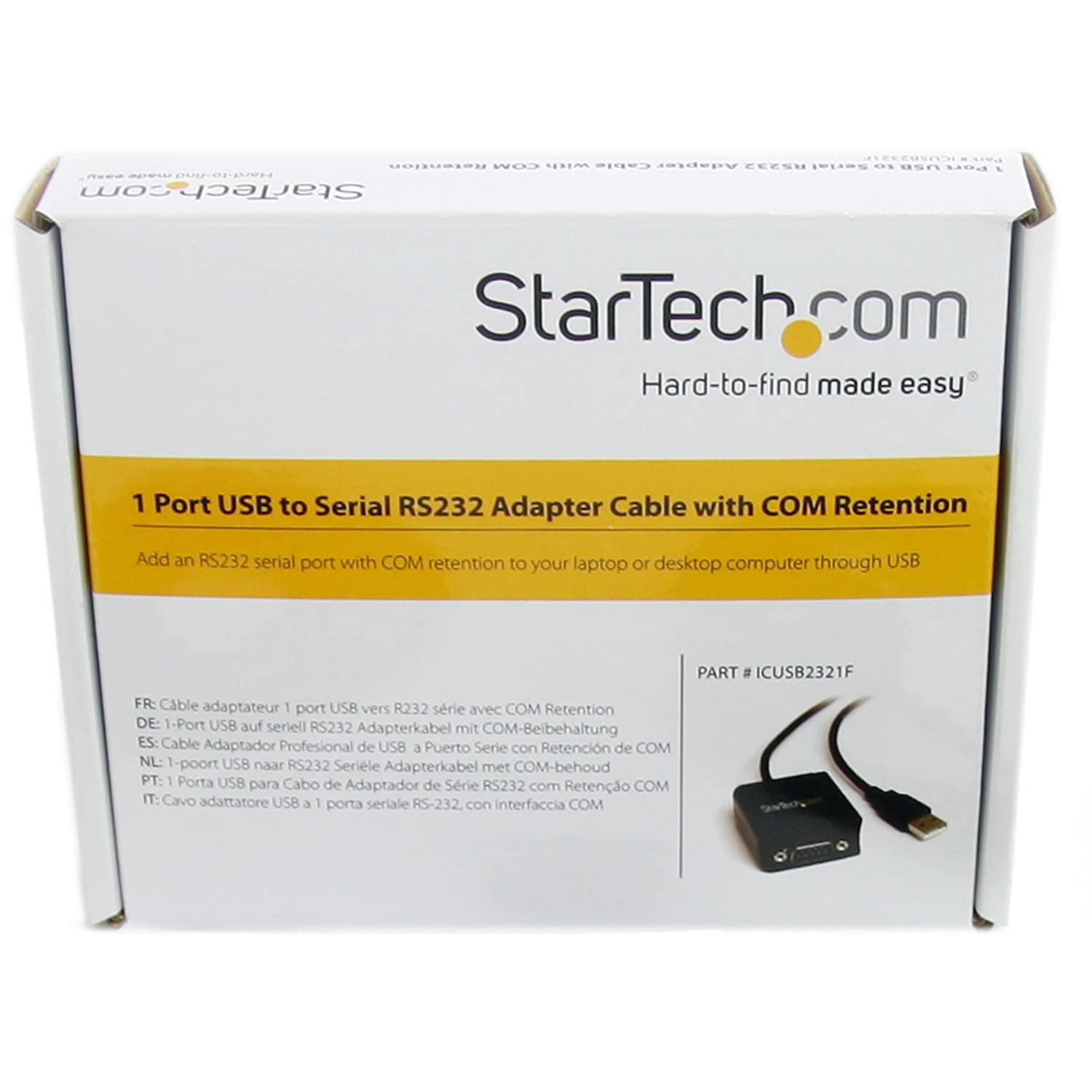 STARTECH ICUSB2321F DRIVERS FOR WINDOWS 7