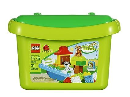 Amazon.com  LEGO DUPLO 4624 Brick Box  Toys   Games 3a143bda8ddd