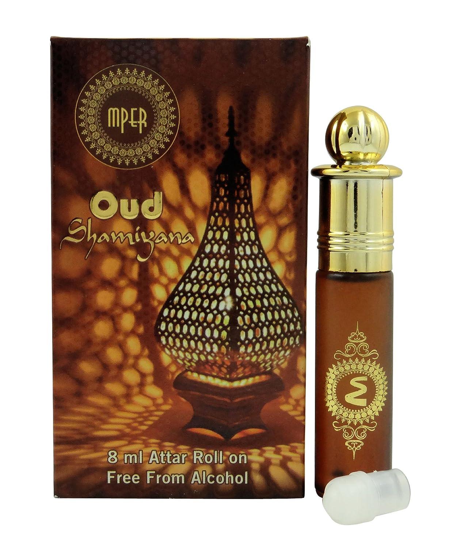Madni negro Noir–Aceite de perfume Attar 100% pura y natural–8ml