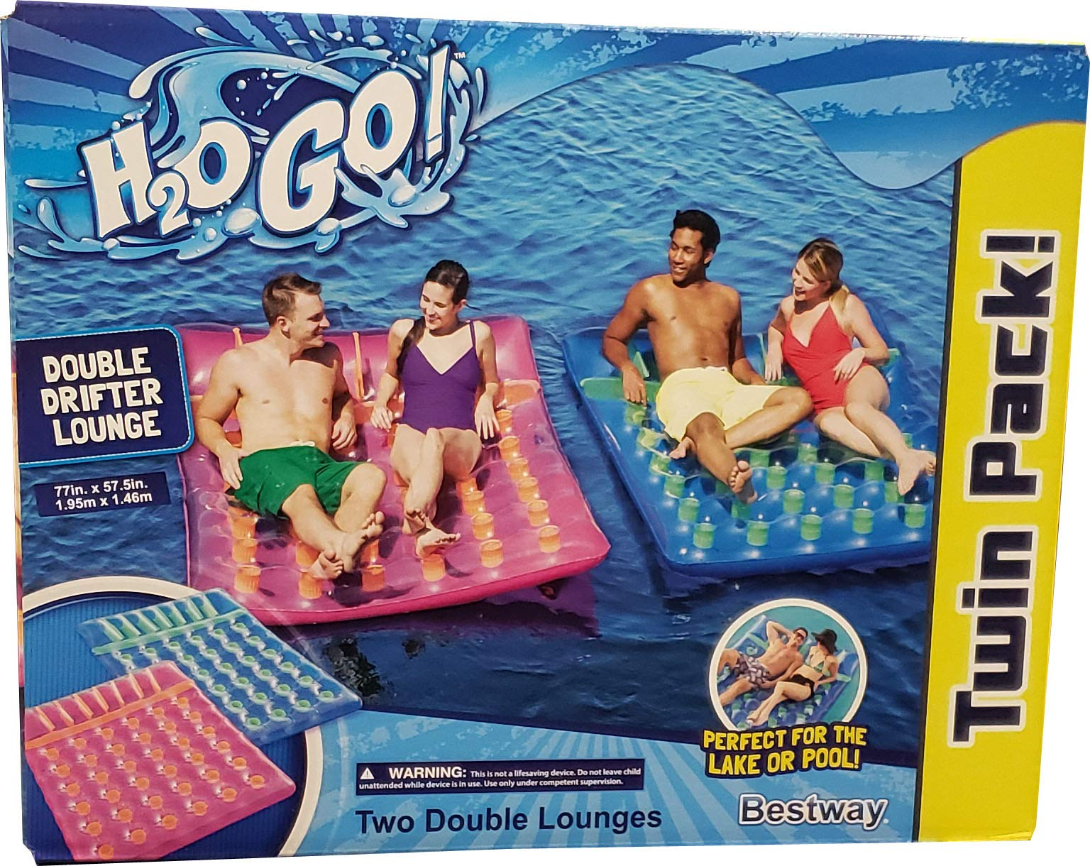 H20 Go Double Drifter, 2 Pack by H20 Go!