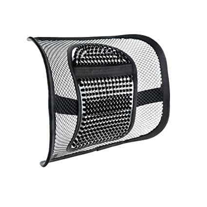 Mesh Lumbar Support for Car Seat or Office Chair VEY Breathable Seating Cushion for All  sc 1 st  Amazon.com & Amazon.com : Mesh Lumbar Support for Car Seat or Office Chair VEY ...