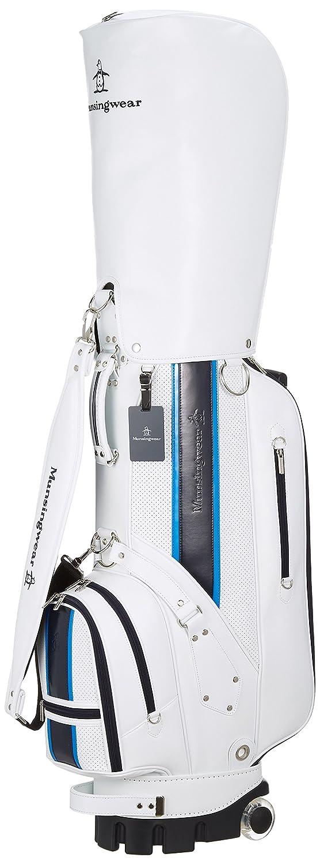 [マンシングウェア] キャディバッグMQBLJJ00 B077RBG8HR WH00(ホワイト) WH00(ホワイト)