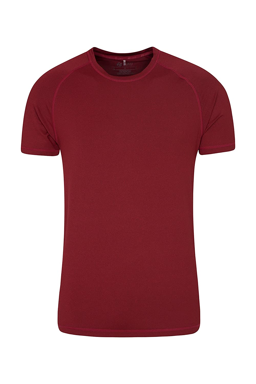 Mountain Warehouse Agra Mens Melange T-Shirt - Round Neck Tee
