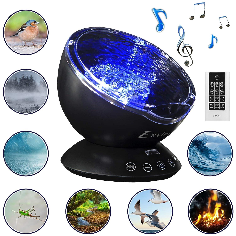 Proyector Nocturno con Sonido Natural: Amazon.es: Electrónica