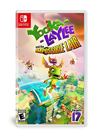 Yooka-Laylee: The Impossible Lair for Nintendo Switch USA: Amazon ...