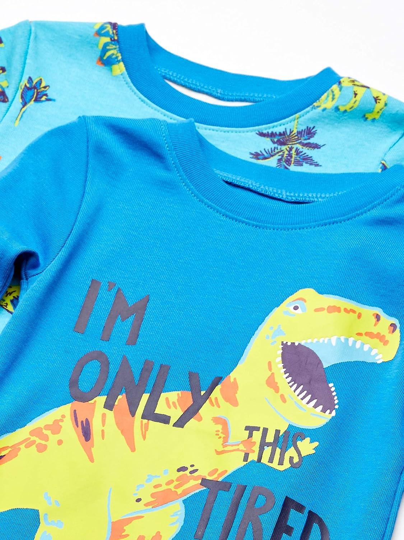 Spotted Zebra  Brand Infant 3-Piece Snug-Fit Cotton Pajama Set 18 Months Dinoland