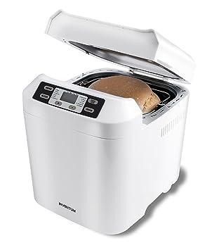 Inventum BM60 550W Blanco - Panificadora (Blanco, 800 g, Pastel de masa,