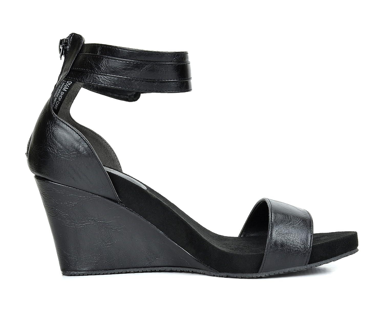 TOETOS Mid SOLSOFT New Women's Casual Open Toes Mid TOETOS Heels Platform Wedges Summer Sandals B01B9Q42CK 10.5 M US|Black-pu 2abe95