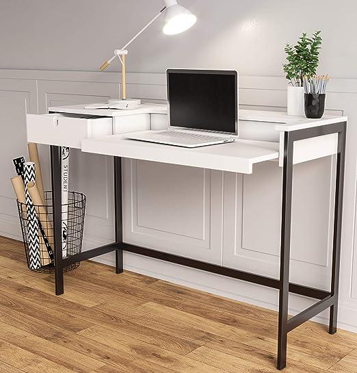 Alusta Furniture Mesa de Ordenador Diseño Moderno Escandinavo ...