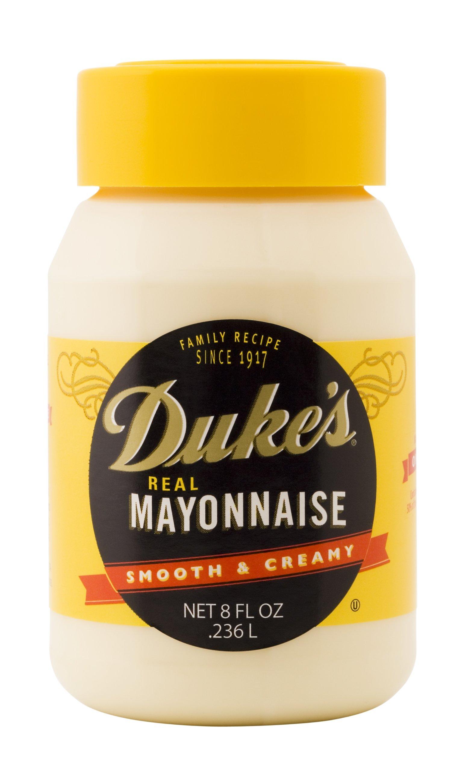 Duke's Mayonnaise, 8-Ounce Jars (Pack of 12)