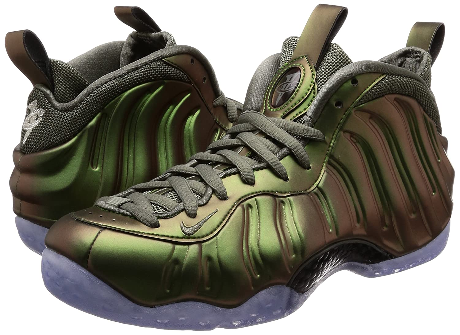 NIKE Women's Air Foamposite One Basketball Shoe B000G47BPM 12 M US|Dark Stucco-black