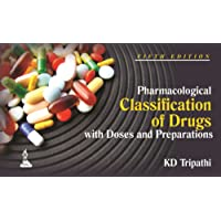 Pharmacological Classification of Drugs with Doses and Preparations