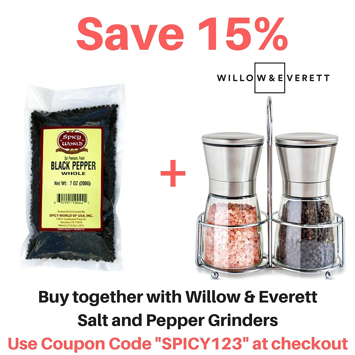 Read Reviews And Compare Black Peppercorns Whole 7oz