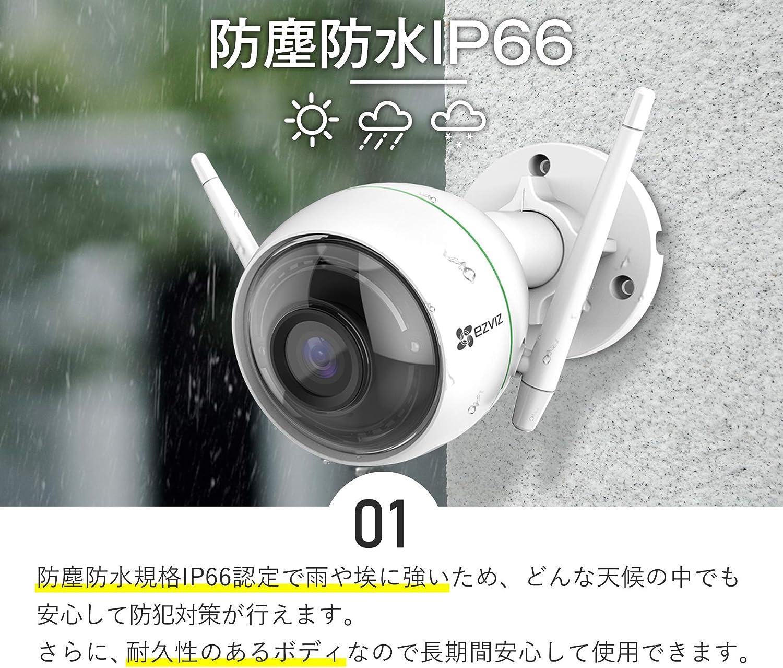 防塵防水IP66