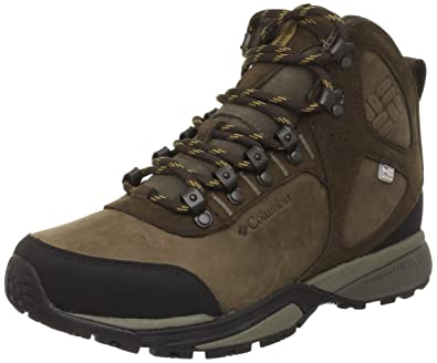 Amazon.com | Columbia Men's Champex Outdry Hiking Boot, Mud/Dark Banana, 10  M US | Hiking Boots