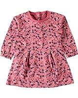 name it mini Mädchen Shirt-Kleid, Jalima in rapture rose mit Blumennmuster, Größe:98