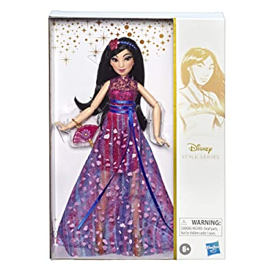 Disney Princess Style Series, Mulan Doll in Contemporary Style with Purse & Shoes: Toys & Games