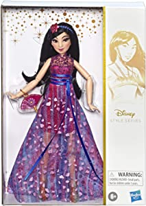 Disney Princess Style Series, Mulan Doll in Contemporary Style with Purse & Shoes