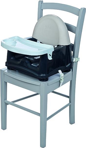 Safety 1st Easy Care Rialza Sedia Per Bambini Per Sedia Da Tavolo Con Vassoio Incluso Grigio Grey Patches Amazon It Prima Infanzia