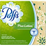 Puffs Cube Plus Facial Tissues, 1 box, 56 ct