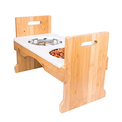PandPal Adjustable Raised Dog Bowls