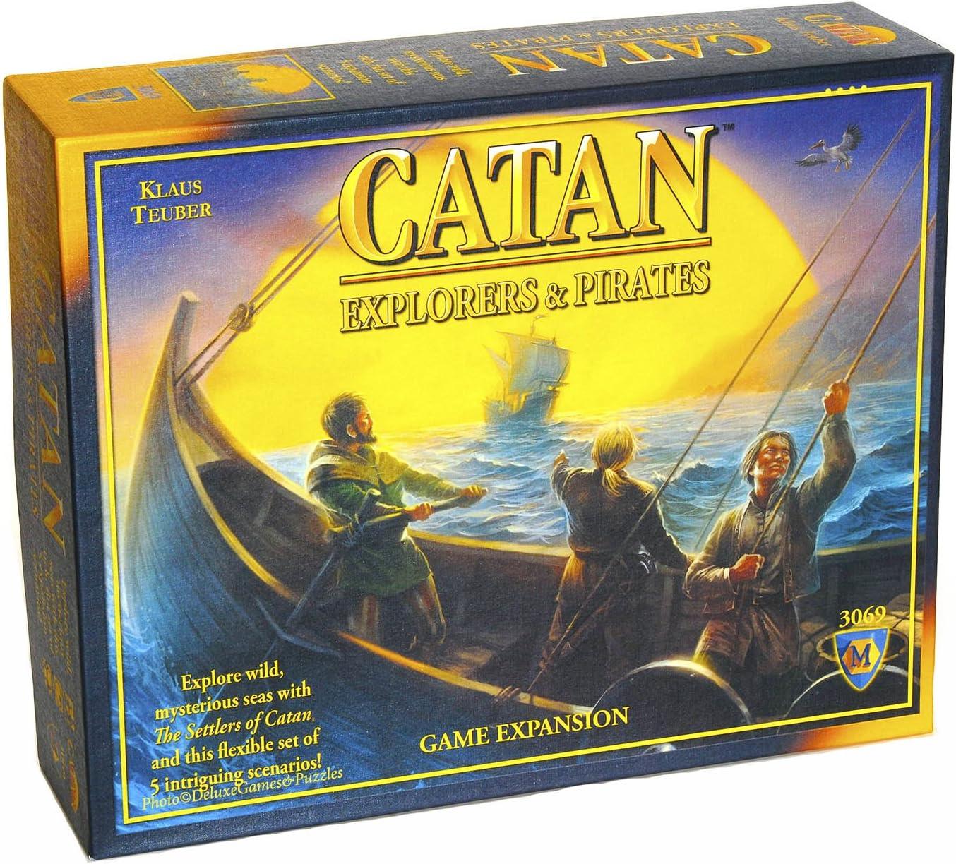 Catan Explorers And Pirates - Juego de Tablero (Mayfair Games MFG3069) [Importado de Inglaterra]: Amazon.es: Juguetes y juegos