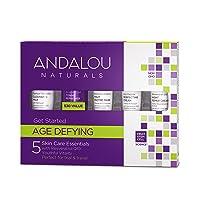 Andalou Naturals Age Defying Get Started Kit 5 Piece Set
