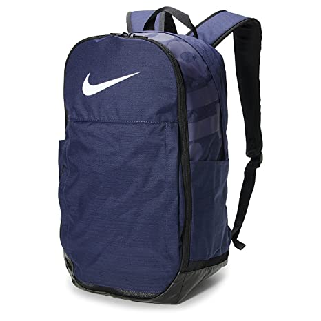 Nike 20 Ltrs Midnight Navy Black White School Backpack (BA5331-410)   Amazon.in  Bags a025caca326b1