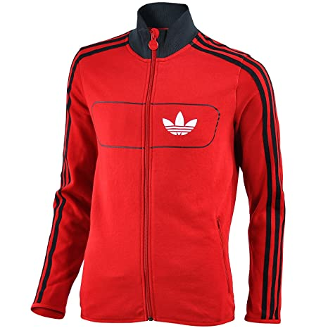 adidas Originals niños Street Diver chaqueta de chándal Red,Black ...