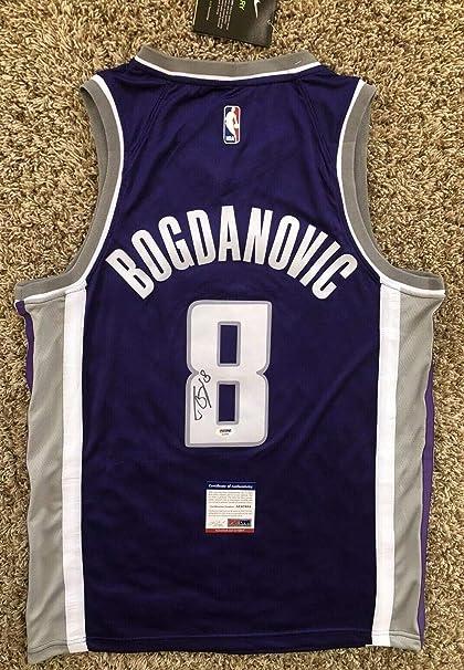 newest 08c22 7a463 Bogdan Bogdanovic Autographed Signed Memorabilia Sacramento ...