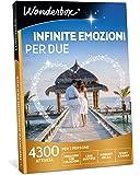 WONDERBOX Cofanetto Regalo - Infinite Emozioni per Due - 4300 attività per 2 Persone