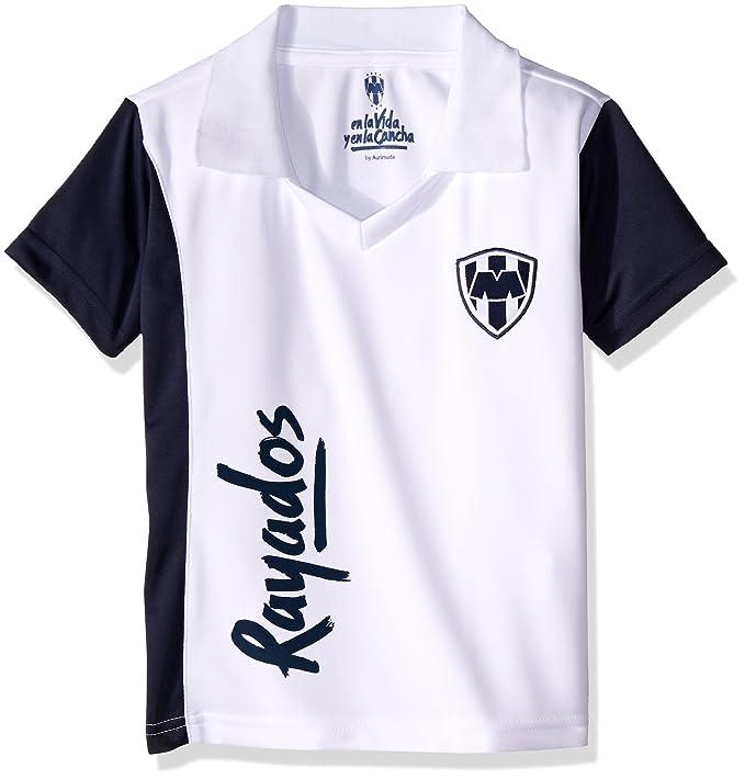 Monterrey playera tipo polo para niños color blanco jpg 679x710 Tec de monterrey  playeras poliester bf5b2aad1e564