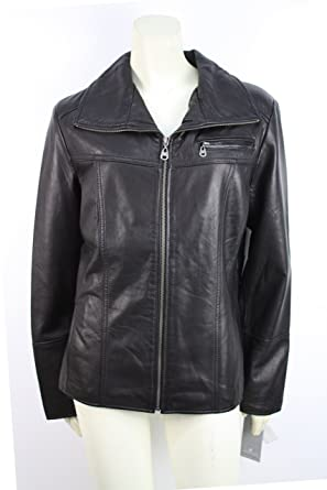 Marc New York Womens Leather Jacket Black M At Amazon Women S