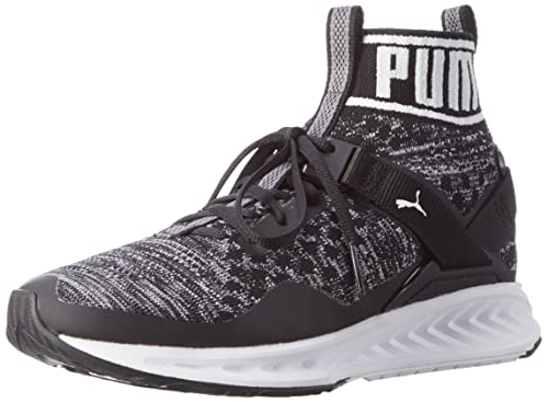 Puma Ignite Evoknit Lo, Scarpe Sportive Outdoor Donna, Nero (Black-Quiet Shade-White), 38.5 EU