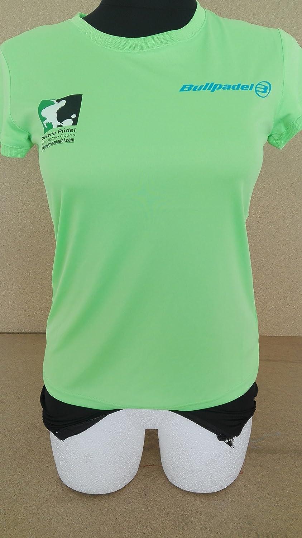 Bullpadel Camiseta Mujer: Amazon.es: Deportes y aire libre