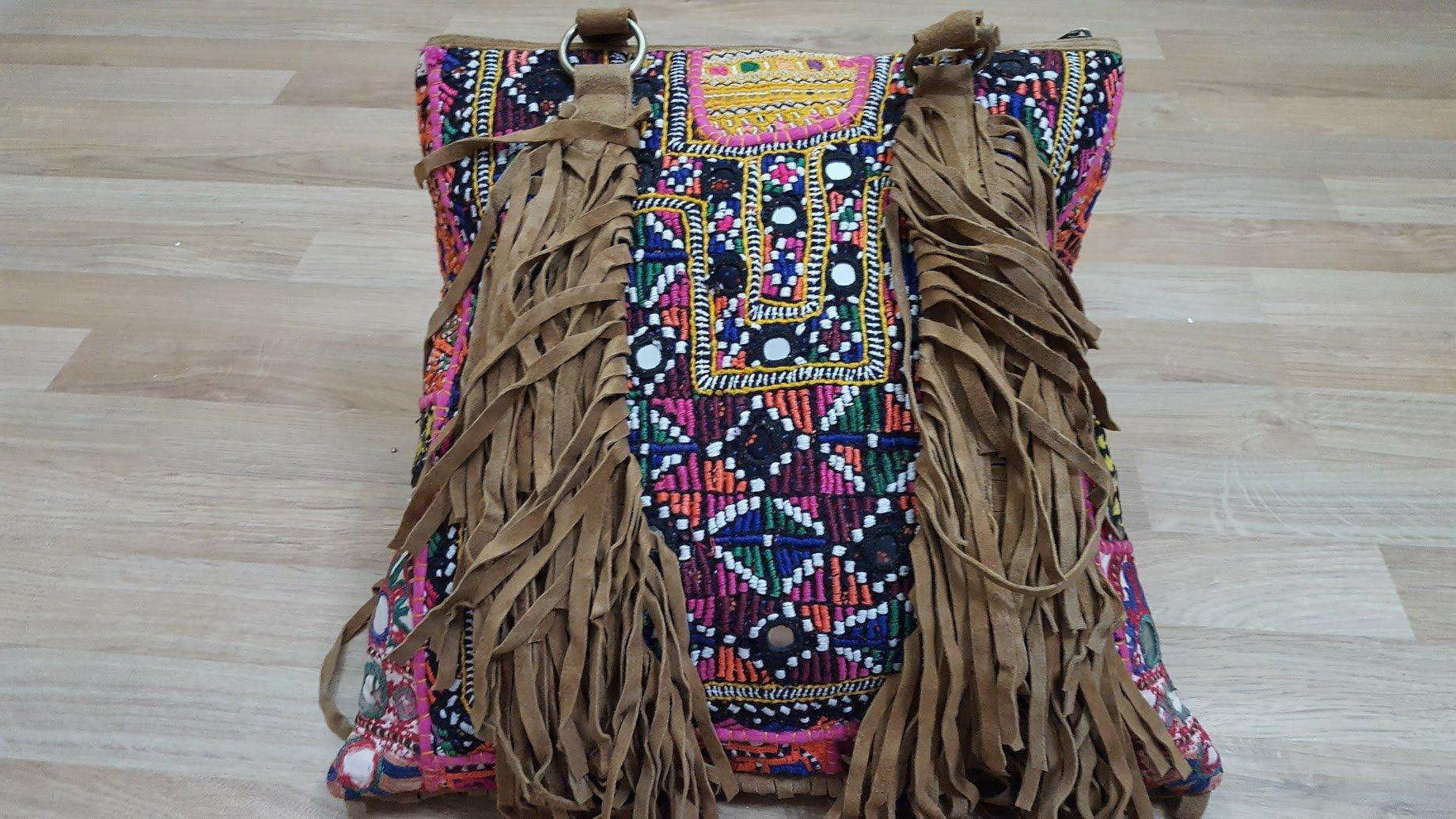 Clutch Bag/Cross Body Bag/ Banjara bag /Vintage Handmade Clutch/Embroidered Bag