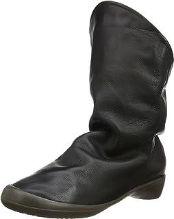Softinos Nubuck Leather Chaussures Bottines Farah Femme frZw6fq