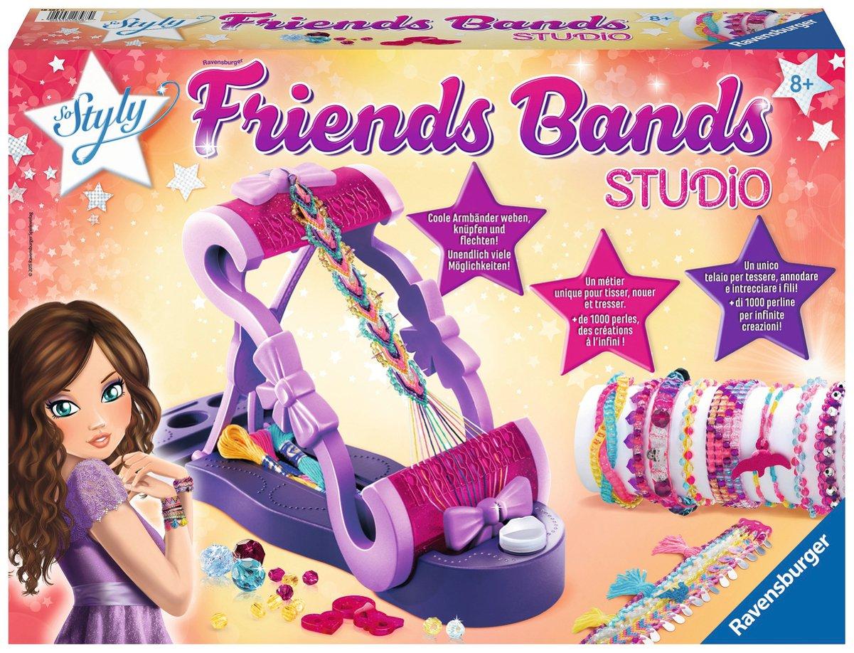 Ravensburger 18587 - DIY Friends Bands Studio 18587 0 Basteln & Hobby Bastelpackung Bastelpackungen