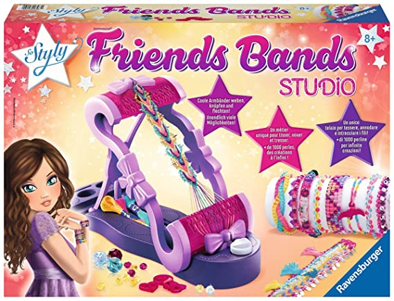 Ravensburger 18587   DIY Friends Bands Studio: Amazon.de: Spielzeug