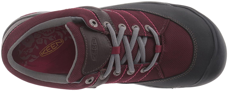 KEEN Women's Presidio Sport Mesh Shoe B019HDV4V4 12 B(M) US|Zinfandel
