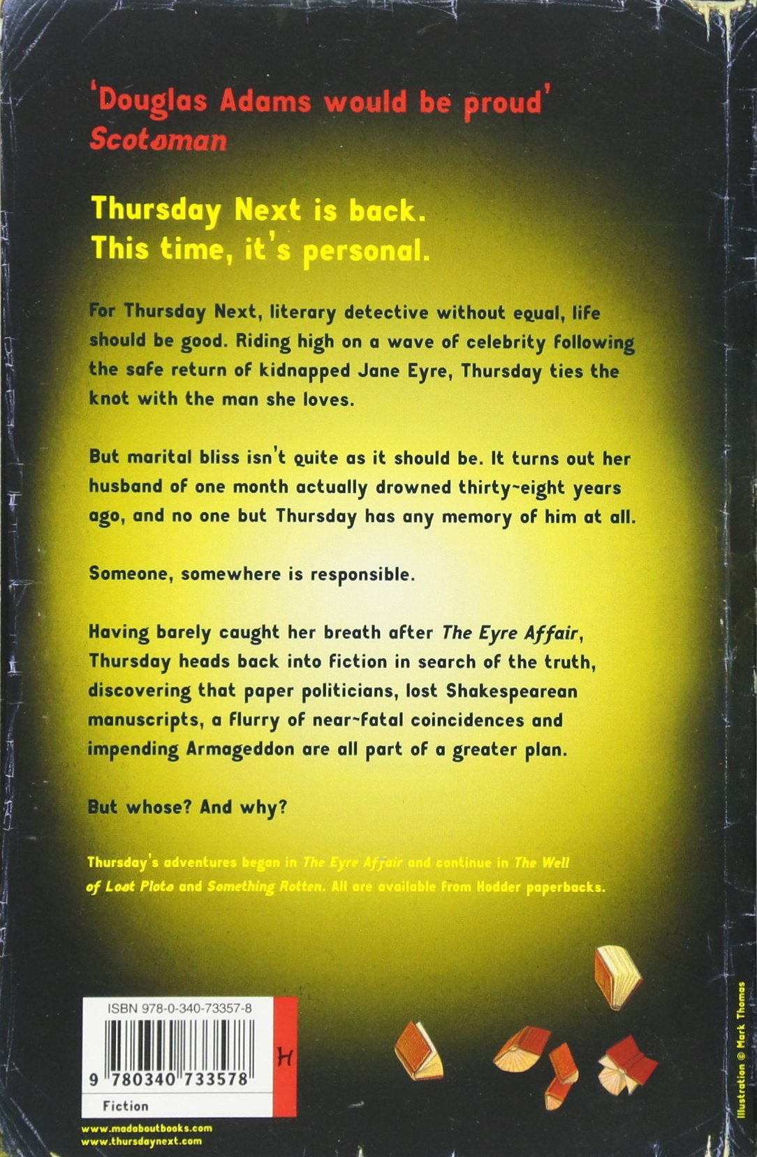 Lost In A Good Book: Thursday Next Book 2: Amazon: Jasper Fforde:  9780965752619: Books